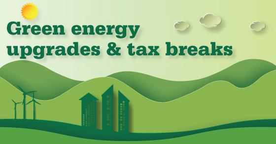 green tax credits