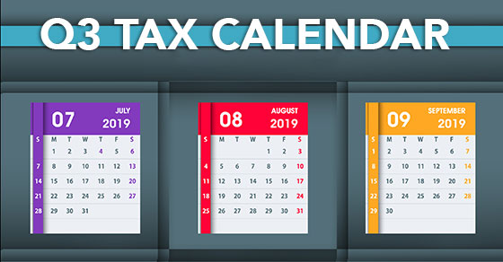 q3 tax calendar
