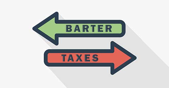 taxes on bartered services
