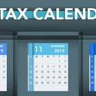 q4 2019 tax deadlines