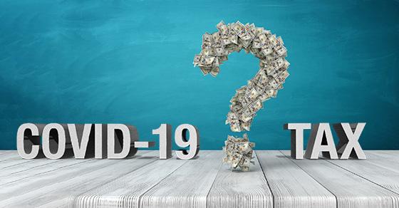 COVID Tax Questions