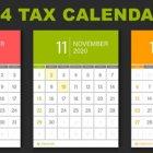 q4 2020 Tax Calendar