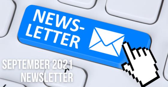 Sept3ember 2021 Newsletter